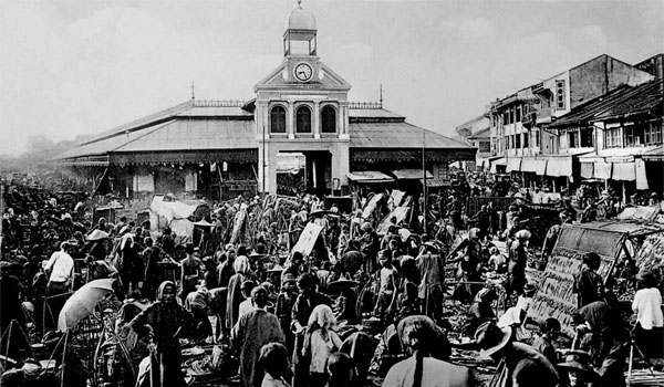 Chợ xưa Sài Gòn